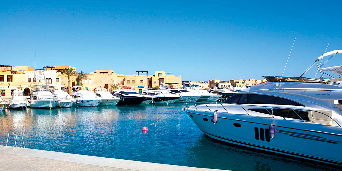 El Gouna - Trips in Egypt