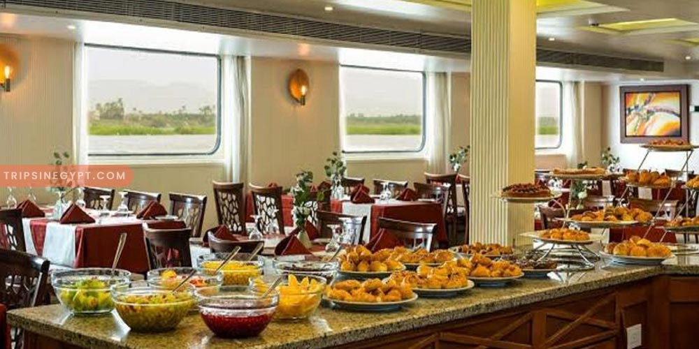 Nile Cruise Food - Trips In Egypt