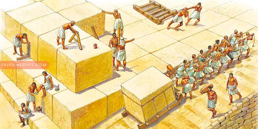 Workforce In Building the Pyramids - Trips In Egypt