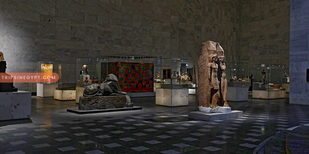 Art Exhibits of the National Museum of Egyptian Civilization - Trips In Egypt