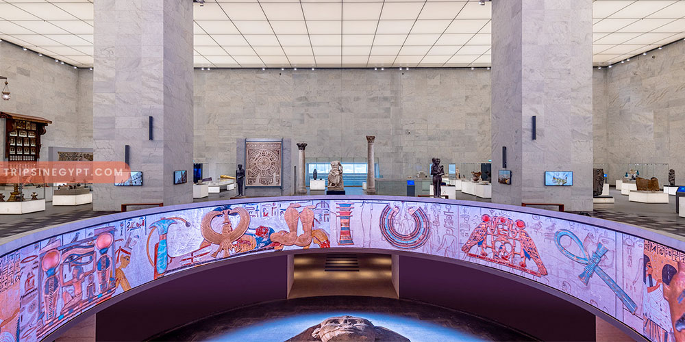 Facilities of the National Museum of Egyptian Civilization - Trips In Egypt