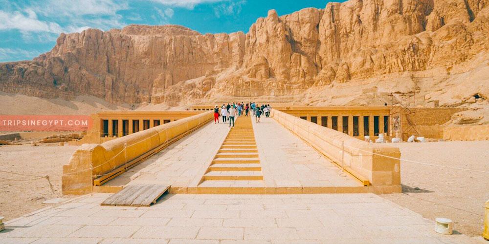Hatshepsut Temple - Trips In Egypt