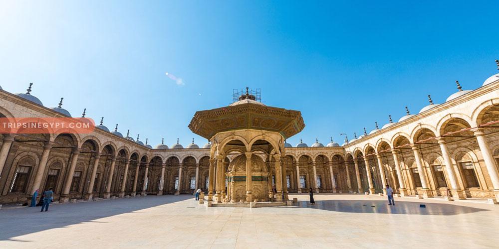 Mohamed Ali Mosque - Trips In Egypt